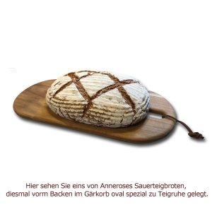 Bild 2 zu Artikel Gärkörbchen-Set rund und oval spezial 1000 g Peddigrohrkörbchen Brotform aus Peddigrohr
