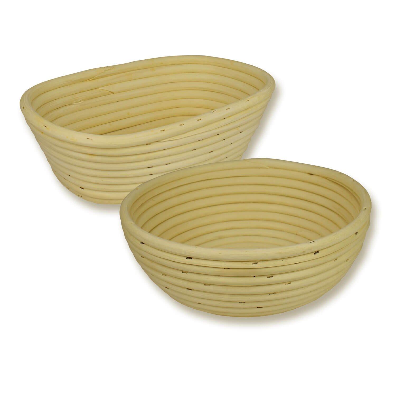 Bild zu Gärkörbchen-Set rund und oval spezial für 1kg-Brot