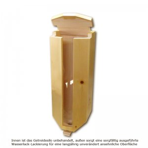 Bild 1 zu Artikel Getreidesilo (3x5kg) aus Zirbenholz