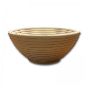 Bild 1 zu Artikel  Gärkörbchen rund für 500 bis 750g-Brot mit Stempel HERZ