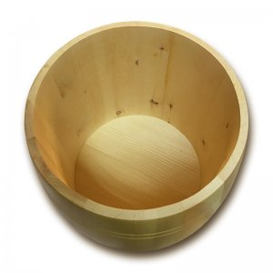 Bild 3 zu Artikel Getreidefass 5,0 kg aus massivem Zirbenholz